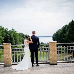 mange års erfaring som bryllupsfotograf